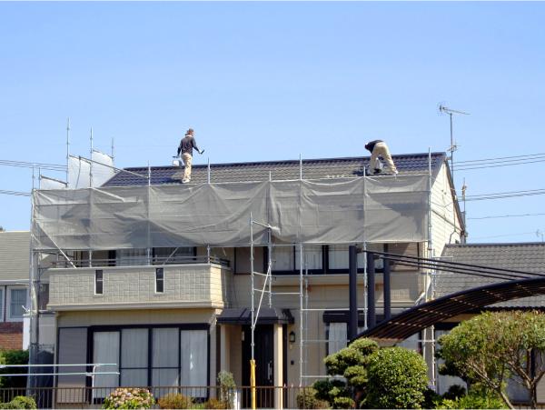 柘植板金の屋根工事